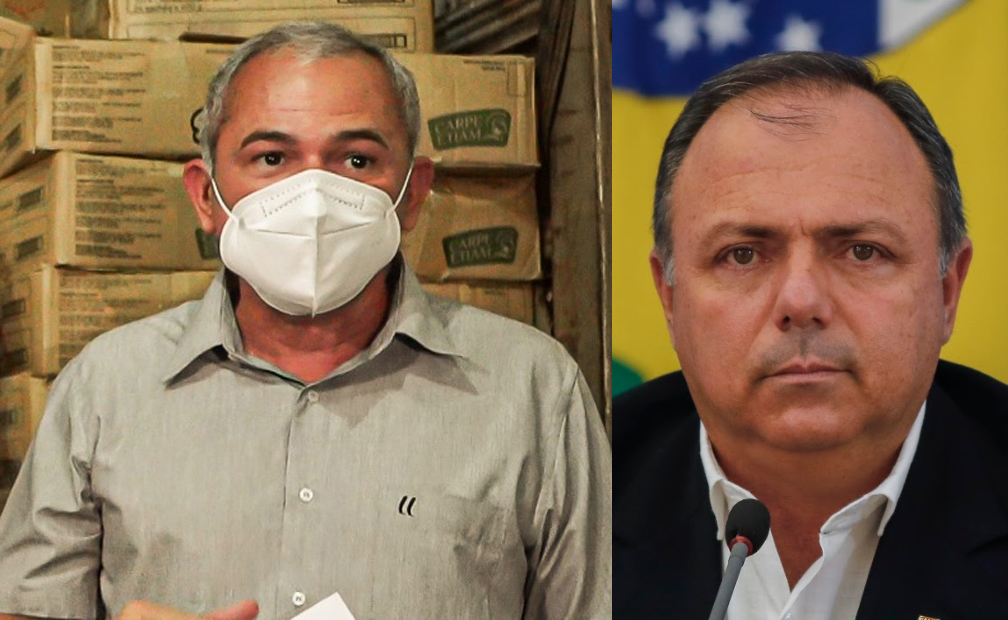 Atendendo pedido do prefeito de Santarém, ministro Eduardo Pazuello desembarca na cidade nesta quinta-feira